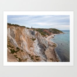 Summer in Martha's Vineyard Art Print