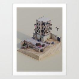 Bomb Has Been Planted Art Print