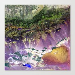 The Turpan Depression Canvas Print