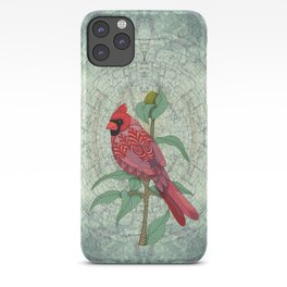 Virginia Cardinal iPhone Case