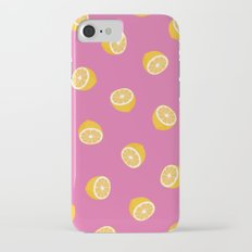 Lemon Pattern Slim Case iPhone 7