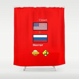 Clown Horror Shower Curtain