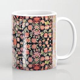 Täcke Antique Swedish Skåne Wedding Blanket Coffee Mug