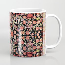 Täcke Antique Swedish Skåne Wedding Blanket Print Coffee Mug
