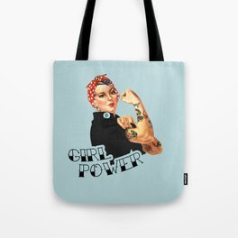 Girl Power! Tote Bag