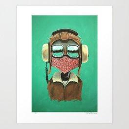 A pilot Art Print