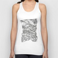 silver Tank Tops featuring Silver by RK // DESIGN