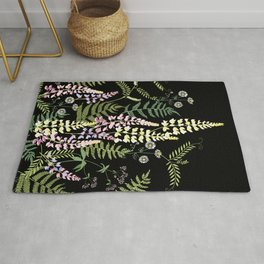 Forest flowers. Rug
