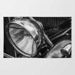 Classic Britsh MG Rug