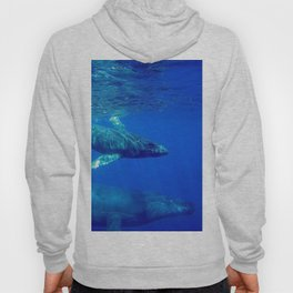 Underwater Humpbacks 10 Hoody