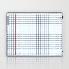 Dotted Grid Red and Blue Laptop & iPad Skin