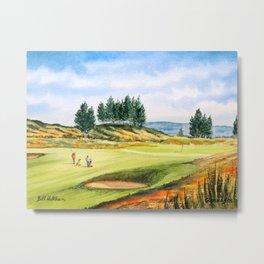 Gleneagles Kings Golf Course Scotland Metal Print