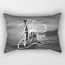 Live the Adventure Rectangular Pillow