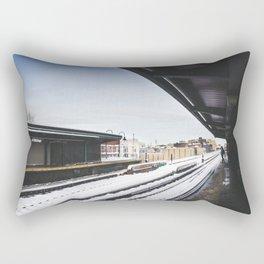 J Train Rectangular Pillow