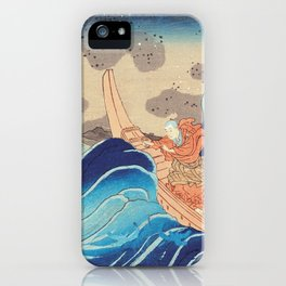 Vision of Prayer on the Waves iPhone Case