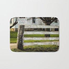 Brown Eggs for Sale Bath Mat