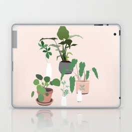 plant party in pink Laptop & iPad Skin