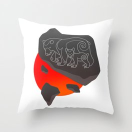 Pictavia Bear Throw Pillow