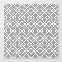 University of Alabama colors trendy patterns minimal pattern college football sports Canvas Print