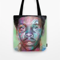 supreme Tote Bags featuring true supreme by Matthew Asbury