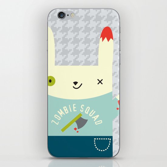 Zombie Bunny Patrol iPhone & iPod Skin