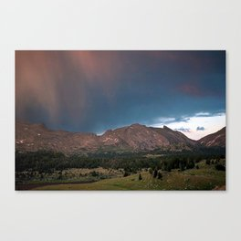 Wind River Range 1970s, Box 3, slide 19 Canvas Print