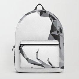 Polygonal Deer Backpack