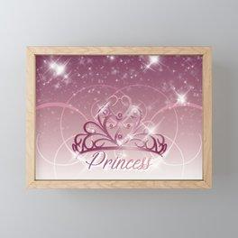 Princess Tiara Framed Mini Art Print