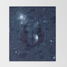 The Last Jedi, Jedi on Blue Stars, Jedi Order Throw Blanket