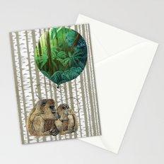 Monkey Balloon Dreams Stationery Cards