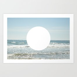 Not even the sun, Not even the moon ( - space ) Art Print