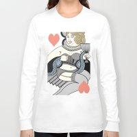queen Long Sleeve T-shirts featuring queen by ulas okuyucu