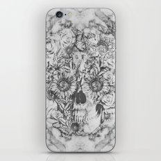 Bookmatched Skull iPhone & iPod Skin