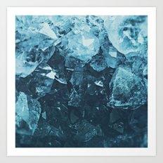 Aquamarine Gem Dreams Art Print
