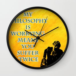 Newt Scamander Quote Wall Clock