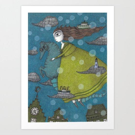 The Sea Voyage Art Print