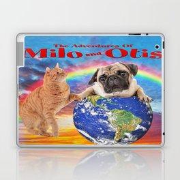 Milo And Otis Take On The World Laptop & iPad Skin