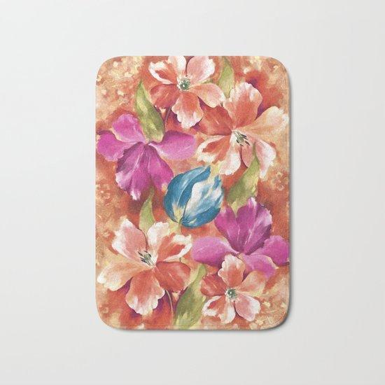 Spring flowers II Bath Mat