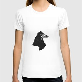 Edouard Manet - The raven by Poe 6 T-shirt