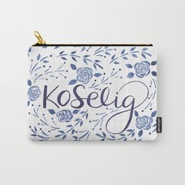 Koselig - Blue Carry-All Pouch