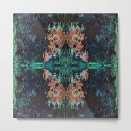 Green Lotus Metal Print
