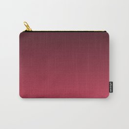 Black, red Ombre. Carry-All Pouch