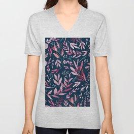 Eucalyptus Pink Unisex V-Neck