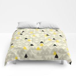 Bee Mountains II Comforters