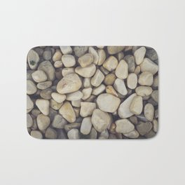White Stones Bath Mat