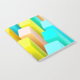 Color Blocking Pastels Notebook