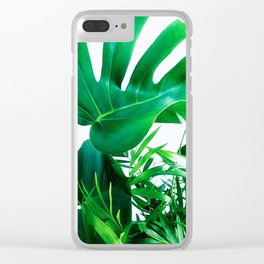 Tropical Display Clear iPhone Case