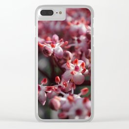 Springblossom Clear iPhone Case