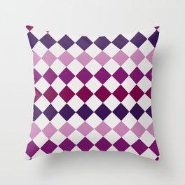 Square tiles Throw Pillow