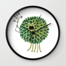 Poofy Plactus Wall Clock